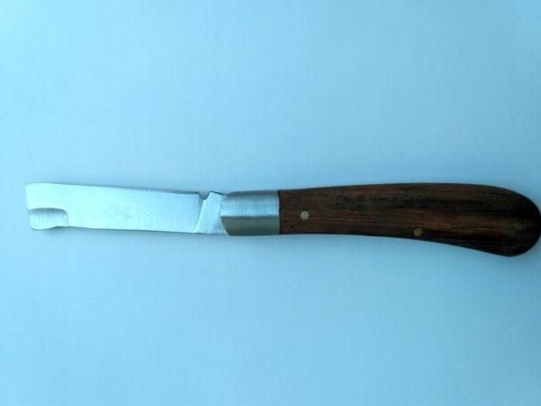 Нож садовый прививочный окулировочный копулировочный