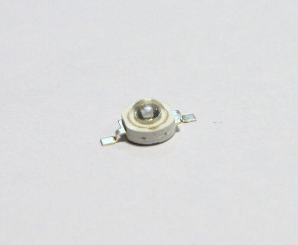 Фито светодиод 3 Вт UV 375 нм. ультра-фиолет