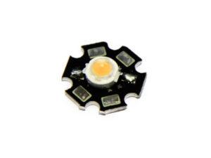 Фито светодиод 3 Вт 445 нм. (синий) на PCB