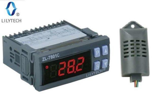 Терморегулятор, гигрометер LILYTECH ZL-7801C