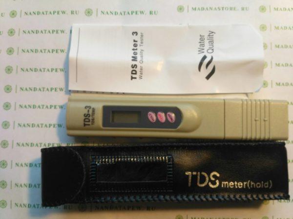 Электронный TDS метр (солеметр)