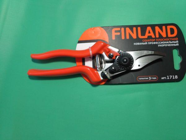 Секатор кованый профессиональный укороченный Finland