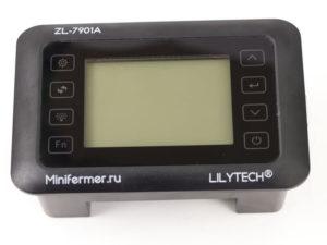 Терморегулятор LILYTECH ZL-7901A (темп+влажность+3 таймера)