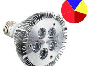Фитолампа 15 Ватт Е27 Мультиспектр — multispectrum