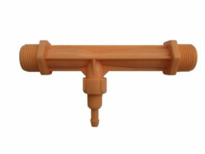 Инжектор для удобрений вентури с наружной резьбой 34″