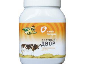 Живые бактерии — подстилка для коров 500 гр.