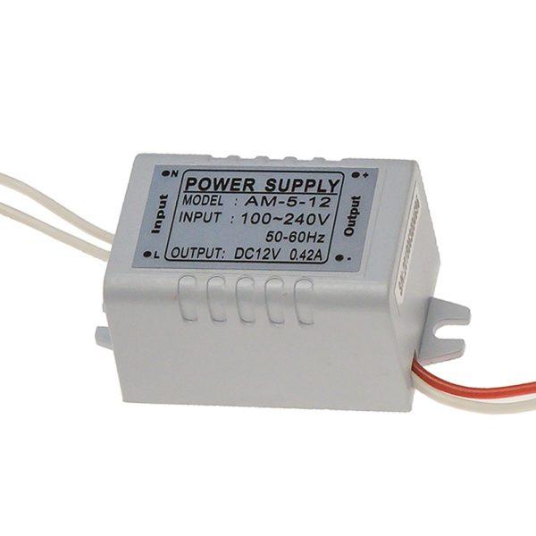 Блок питания 220V AC / 12V DC (0,42A)