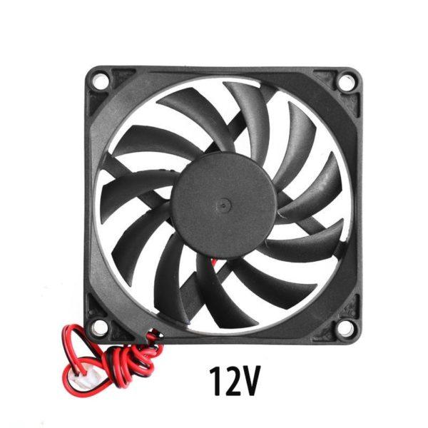 Осевой вентилятор корпусной 140х140х25мм 12Вольт