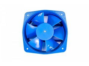 Осевой вентилятор корпусной 200х200х50мм 220 Вольт