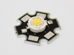 Фито светодиод 3 Вт 2900К (теплый белый) на PCB «звезда»