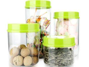 Банки для хранения продуктов в вакууме