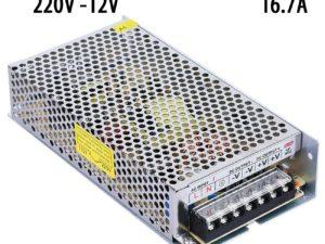 Блок питания 220V AC / 12V DC 16,7A