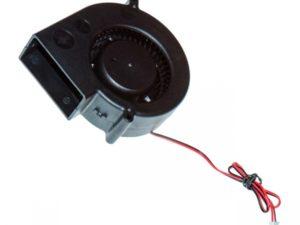 Вентилятор радиальный (центробежный) на втулке 97х97х33мм 12Вольт