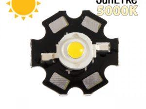 Фито светодиод 3 Вт SunLike 5000K на PCB «звезда»