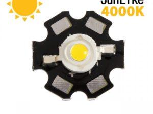Фито светодиод 3 Вт SunLike 4000K на PCB «звезда»