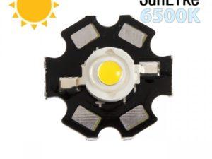 Фито светодиод 3 Вт SunLike 6500K на PCB «звезда»