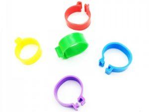 Меточное кольцо 16 мм жесткое