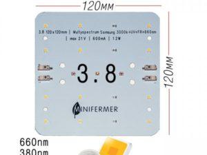 3.8 Quantum board Mini MultiSpectrum: Samsung 3000K+660nm+385nm+730nm