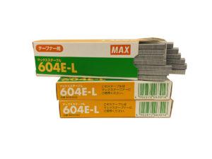 Скобы для тапенера Max 604 E-L Япония